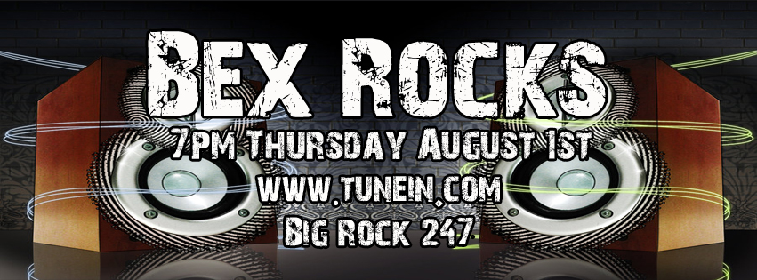 Bex Rocks Classic Rock Show Timeline new