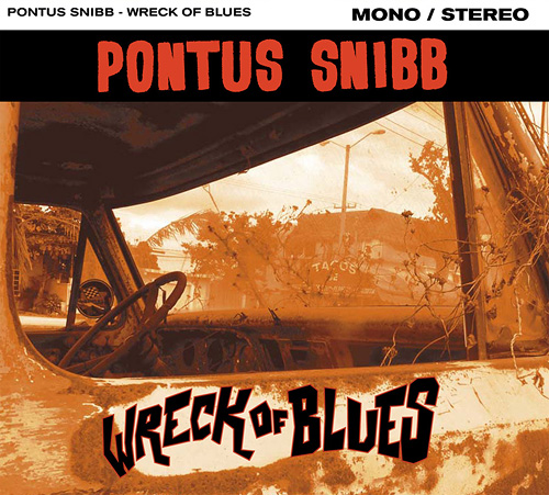 Pontus Snibb - Wreck Of Blues-cover