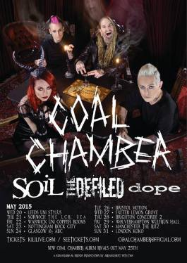 Coal Chamber UK tour dates