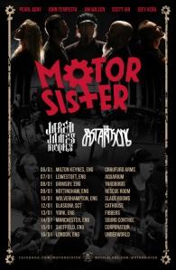 motor sister uk tour